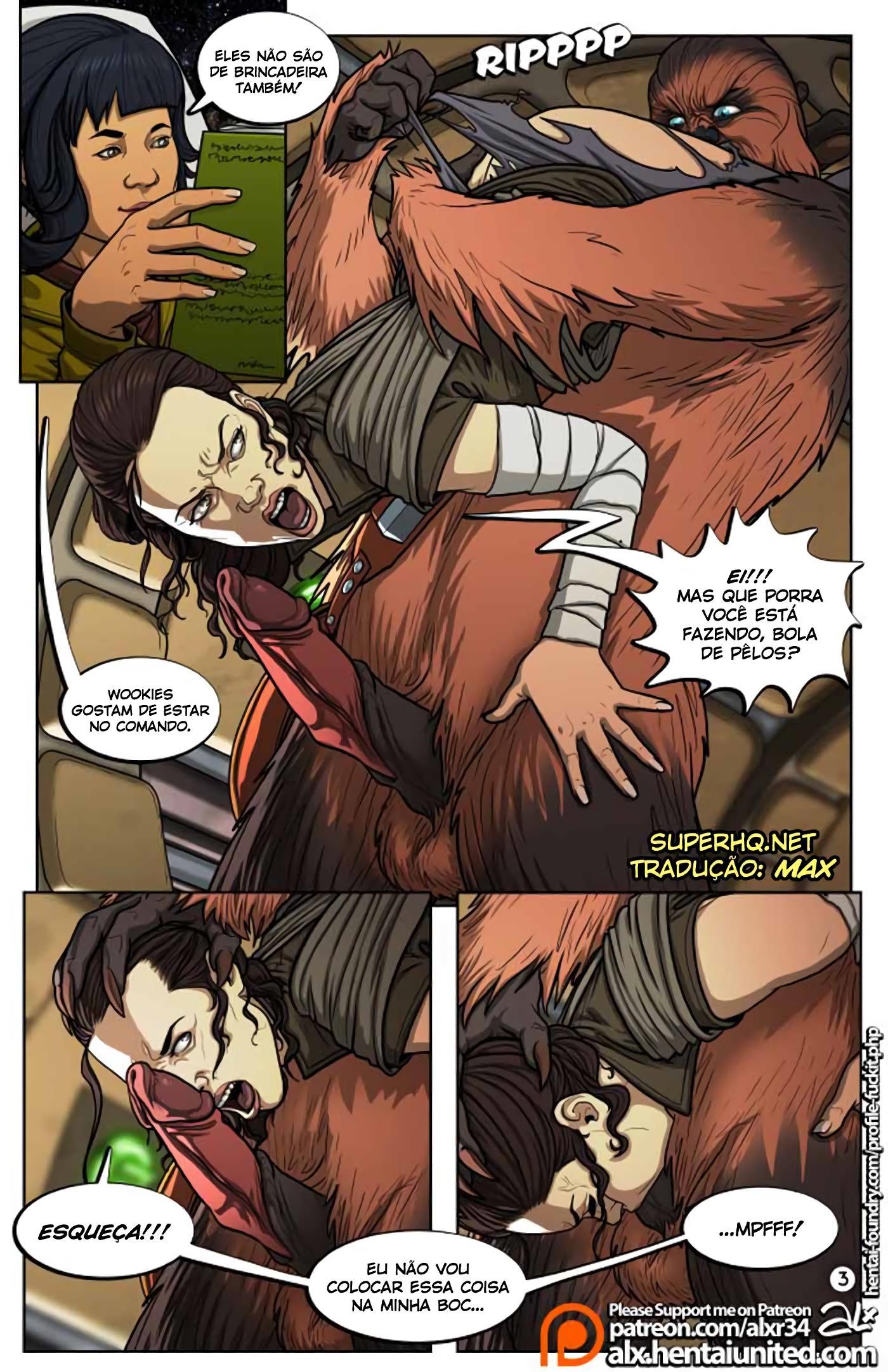 Um Guia Completo para o Sexo Wookie - Foto 4