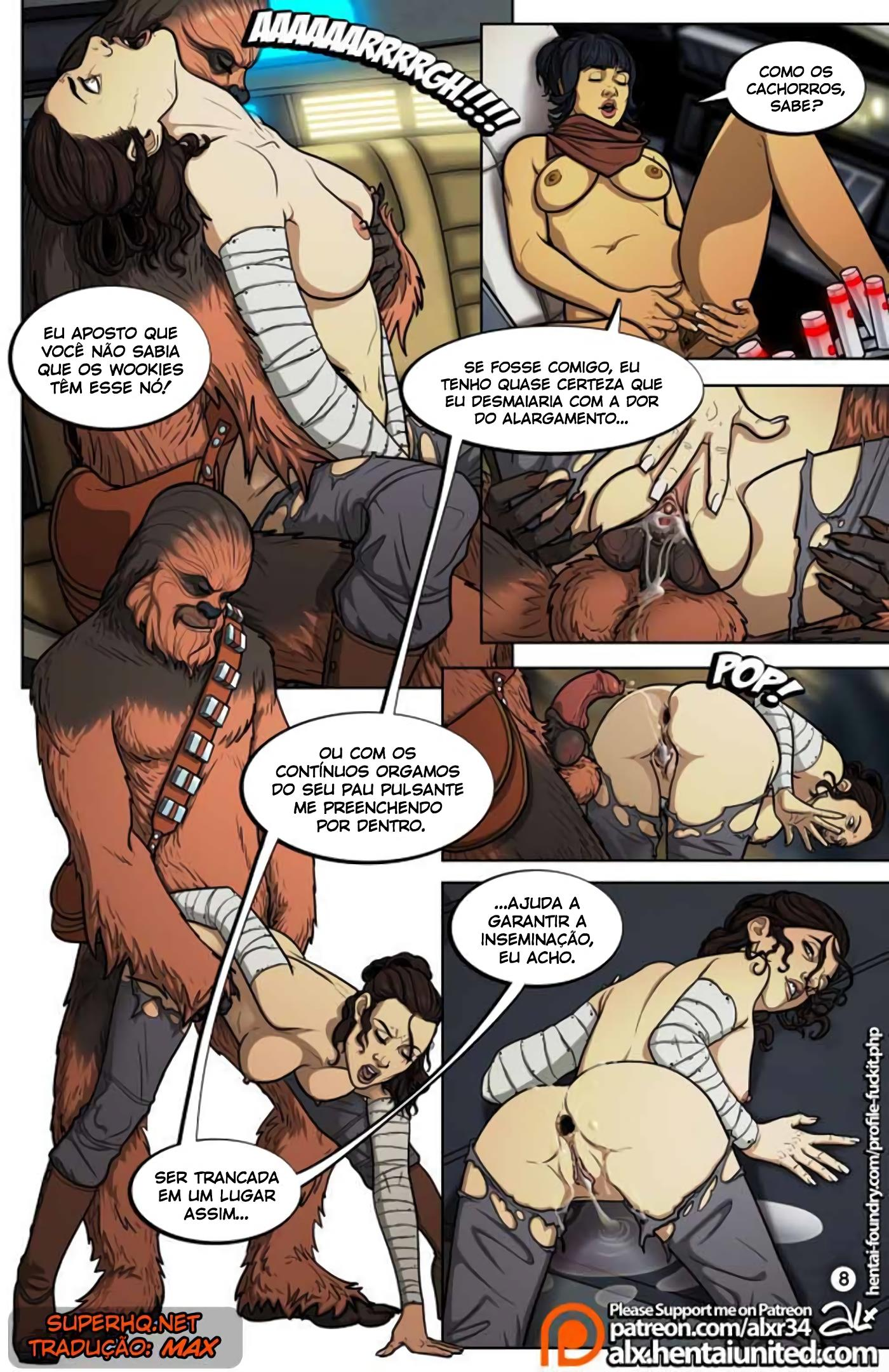 Um Guia Completo para o Sexo Wookie - Foto 9